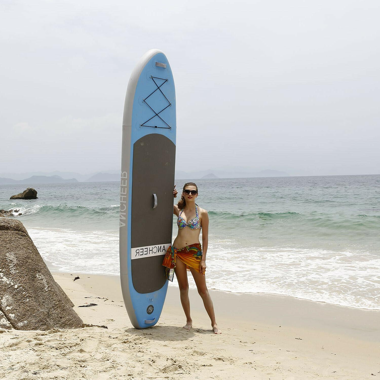 Universal Inflatable Stand Up Paddle Board  SUP Wide Stance