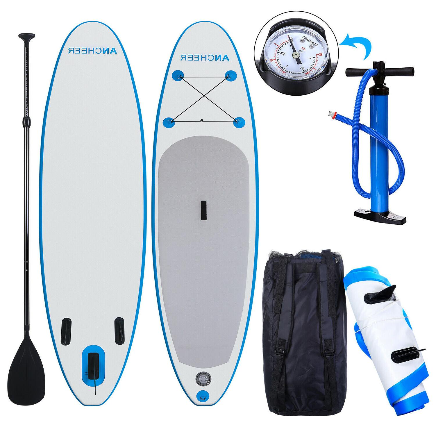 ANcheer SUP Marina 10' Stand Board Inflatable SUP.