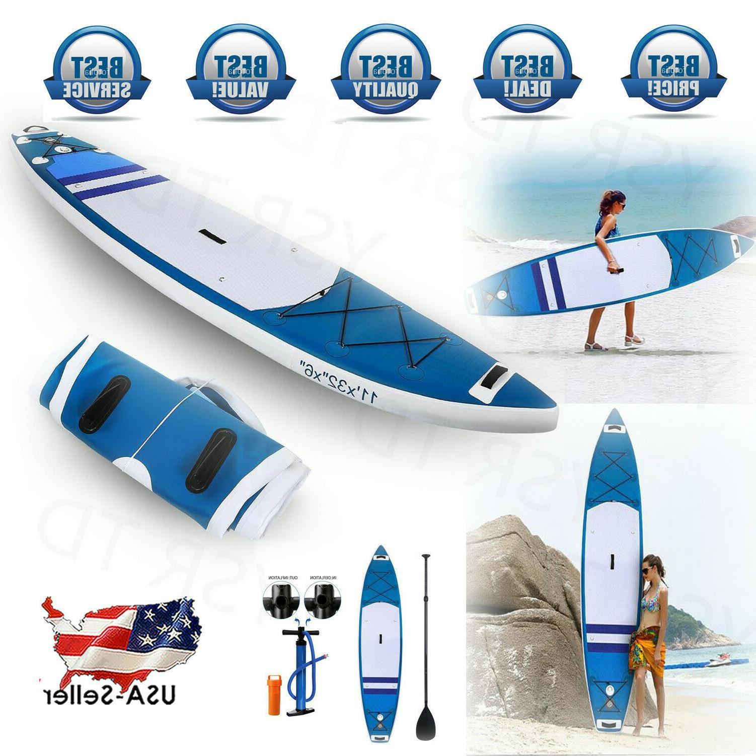 ANCHEER 11 Ft Inflatable SUP Stand Up Paddle Board Adjustabl