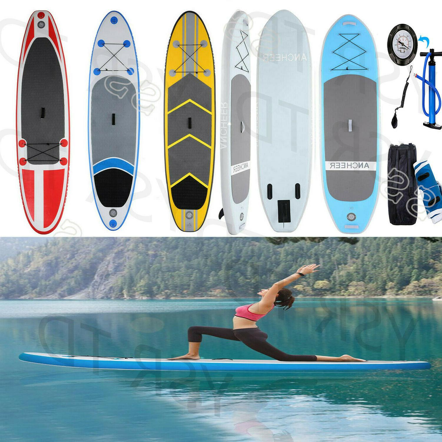 ANCHEER SUP Tower Stand Up Inflatable Paddle Board Bundle Bag