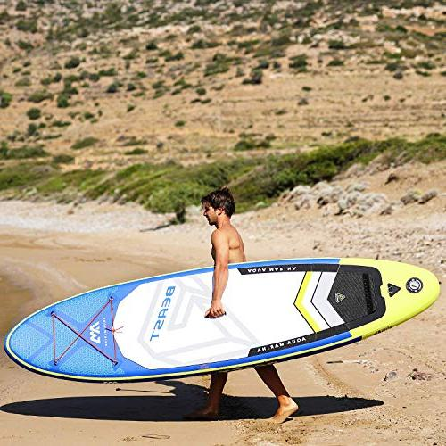 "Aqua Marina 10'6"" Stand Paddle Board with Pump Fin Mount kit"
