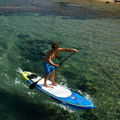Aqua Marina Stand Board with Pump Fin Action kit