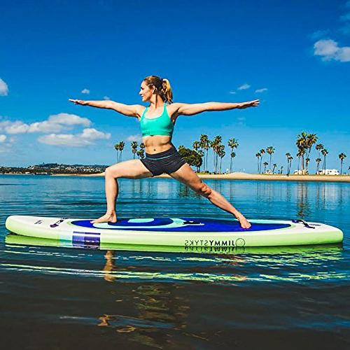 Jimmy Styks SUP Up Paddleboard for & Pilates w/ Pump