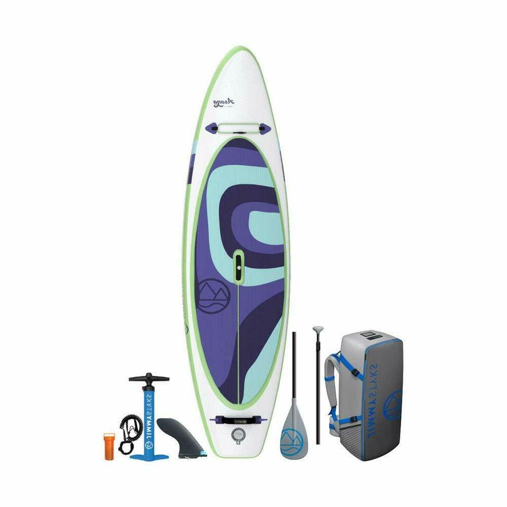 asana inflatable sup stand up paddle board