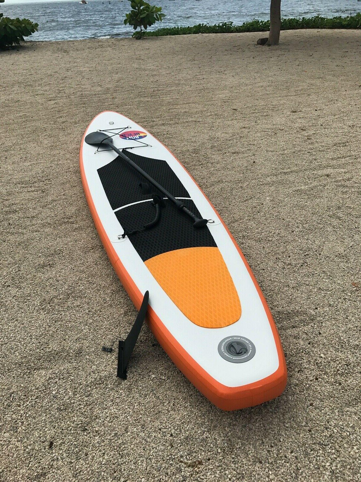 Beach 10' Inflatable Up w/ Paddle and