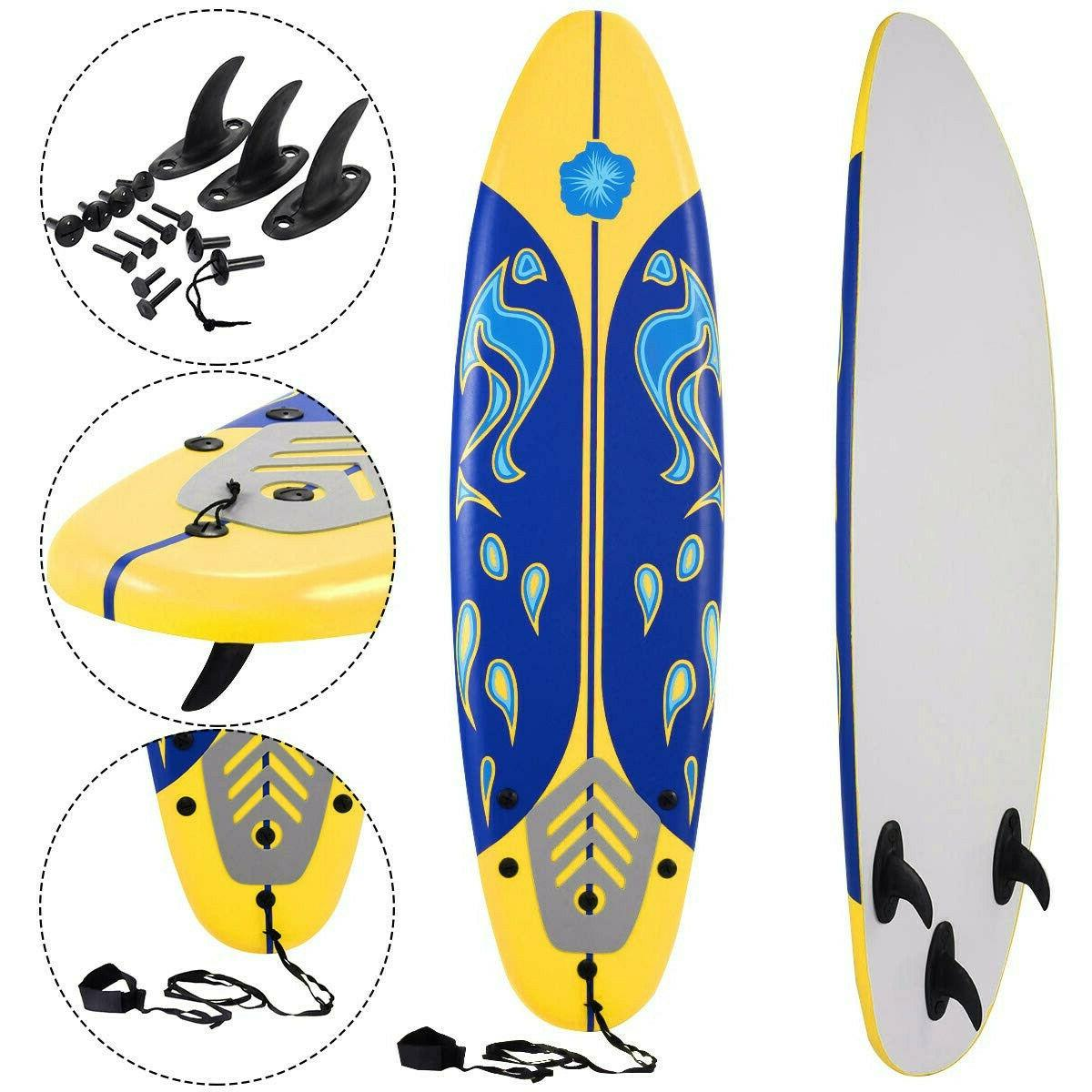 beach surf board paddle stand ocean adult
