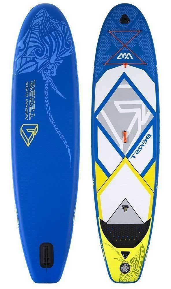 "Aqua Marina Beast Paddle Board 10'6"" Inflatable Stand Up Pad"
