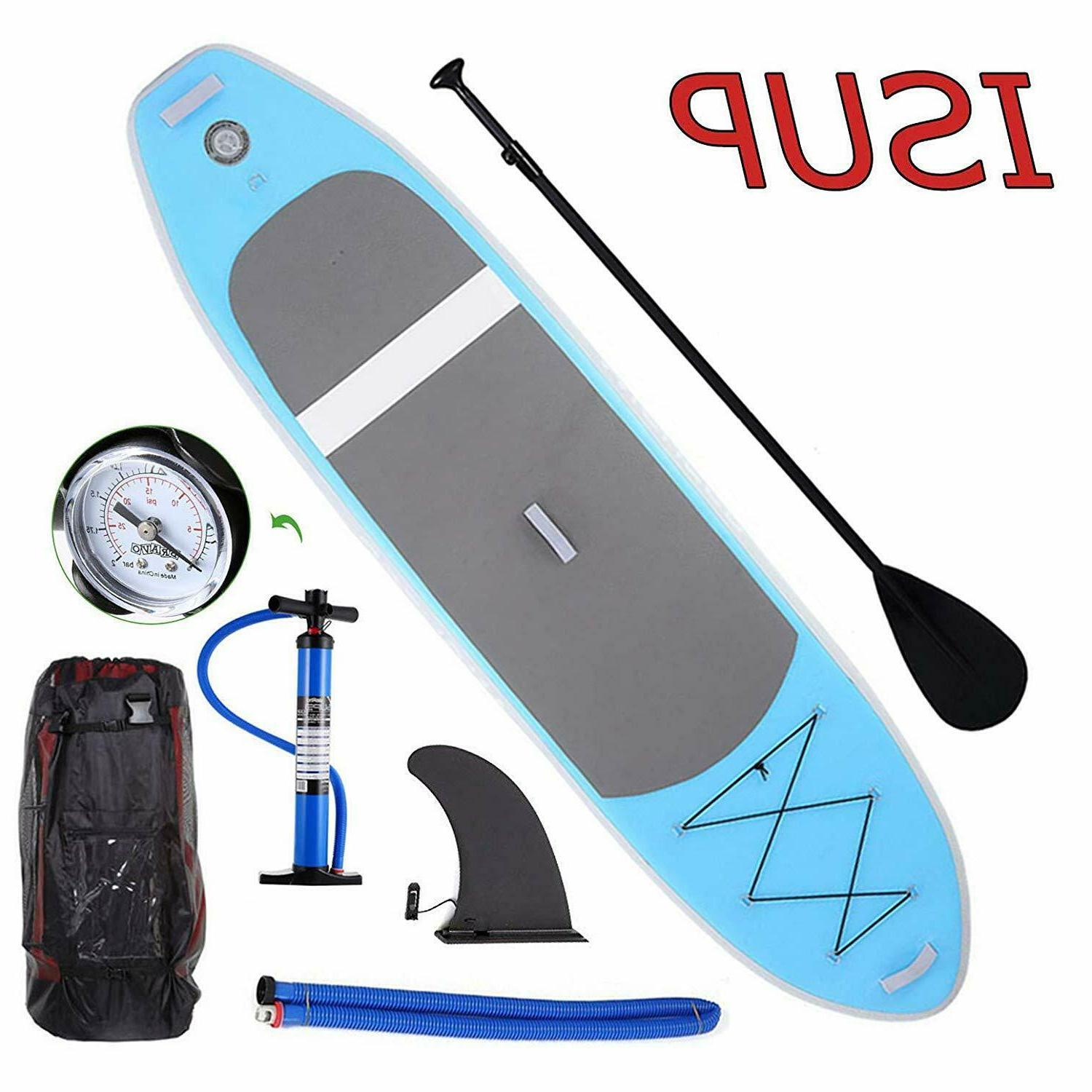 ANCHEER Force Inflatable 10 Foot Oceana SUP Stand Up Lake Pa