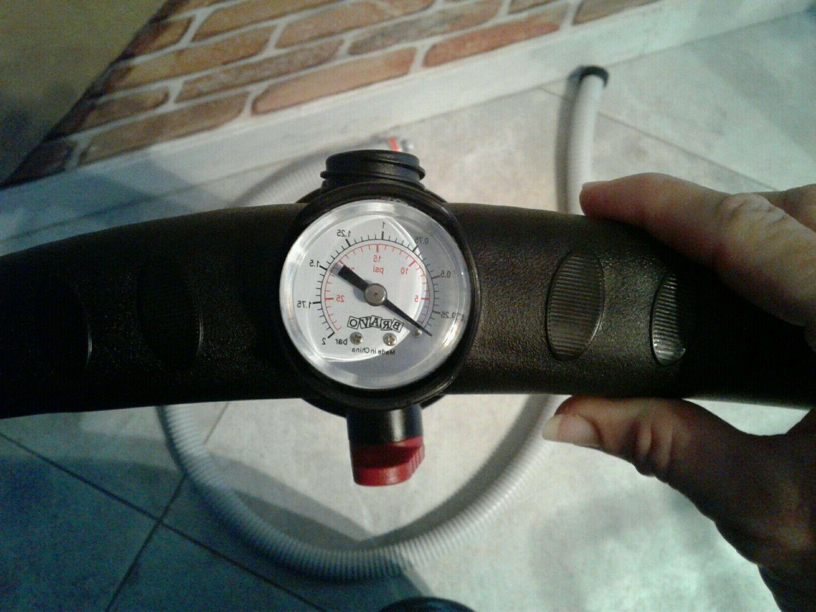 Brand New STYKS Pump For Inflatable Up SUP 15 PSI