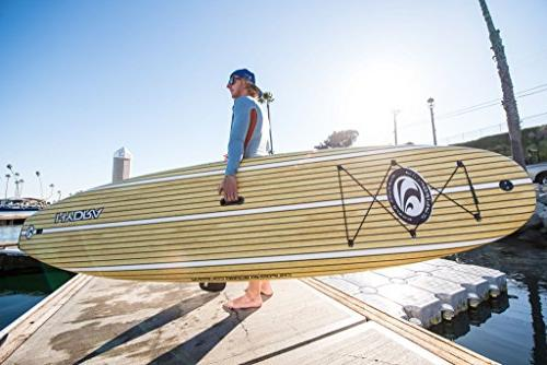 """CBC 10'6"""" Classic Paddle Board Adjustable Paddle, Leash, One Fin, Mount, Protective & Racks!"""
