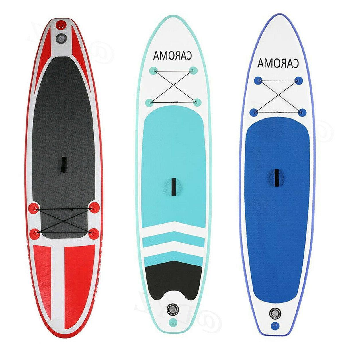 caroma 10 inflatable stand up paddle board