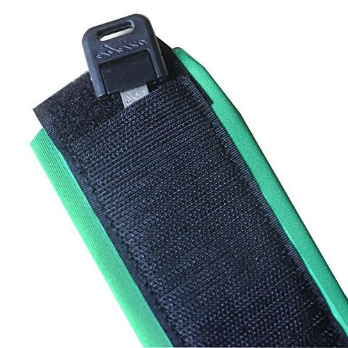 A ALPENFLOW SUP Leash for Up Paddle Board, Green
