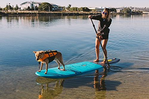 ISLE Cruiser Stand SUP Package Adjustable Paddle, Center Carry Handle, Slip