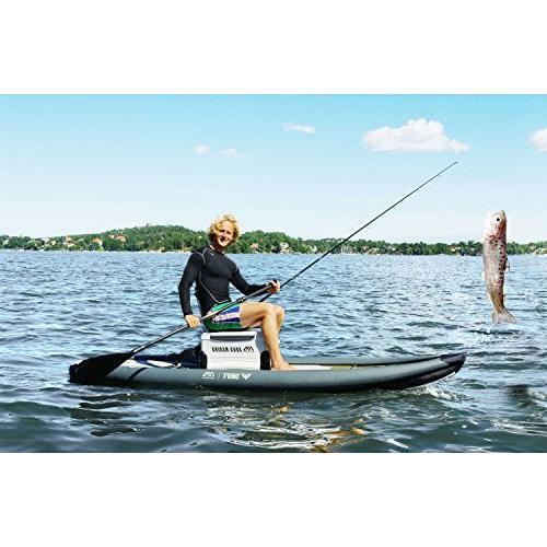 Aqua Marina Drift Inflatable Paddle with Fishing Holders