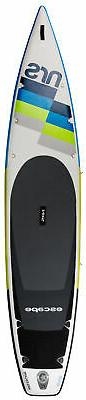 """NRS Escape 12'6"""" Inflatable SUP Board White/Grey One Size"""