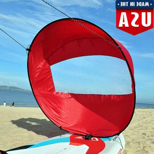 foldable downwind wind paddle popup board