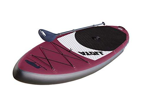 Atoll 11' Foot Stand Up ISUP, Bravo Hand Travel Paddle