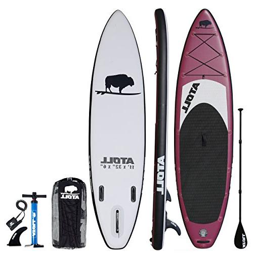 foot inflatable stand board isup