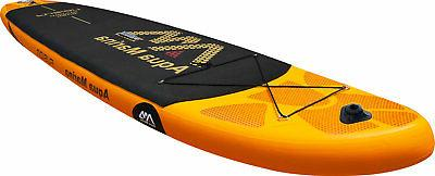"Aqua Fusion 10' 10"" Stand Up Paddle Board Inflatable SUP"