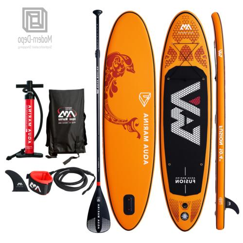 fusion inflatable stand paddle board