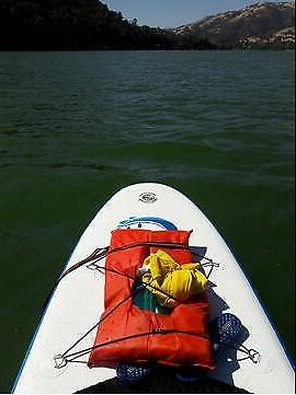 FW Inflatable Paddle Paddle,Backpack,leash,pump