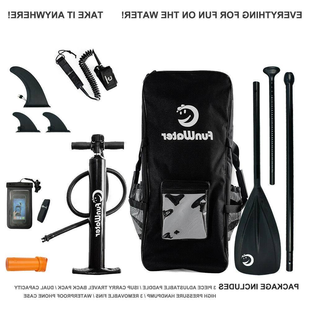 FW Inflatable Paddle,Backpack,leash,pump