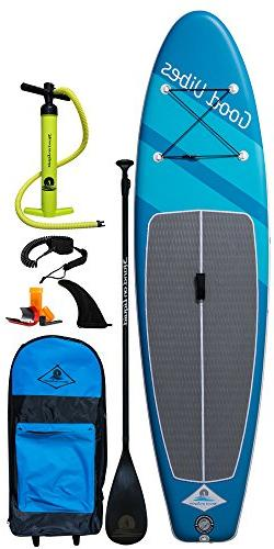 Stand on Liquid Good Vibes Air Inflatable 10 Foot 6 Inch All