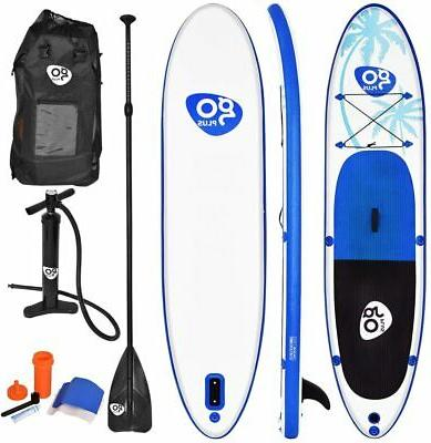 Goplus 10/11ft Inflatable Stand Up Paddle Board