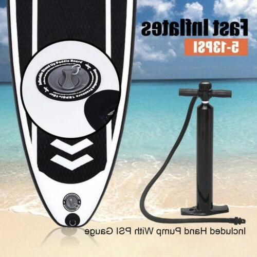 Goplus Stand Up Paddle W/ Fin Backpack