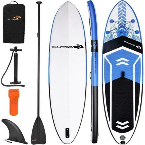 goplus 10 5 inflatable stand up paddle
