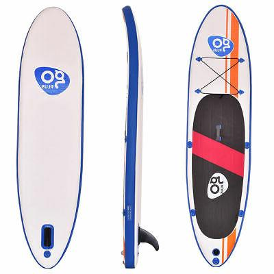 Goplus Inflatable Up Paddle Board SUP Fin Adjustable