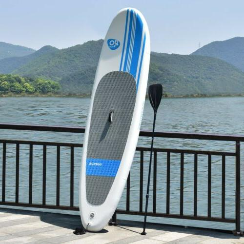 Goplus 10FT Inflatable Stand Up Paddle Board SUP Summer Holi