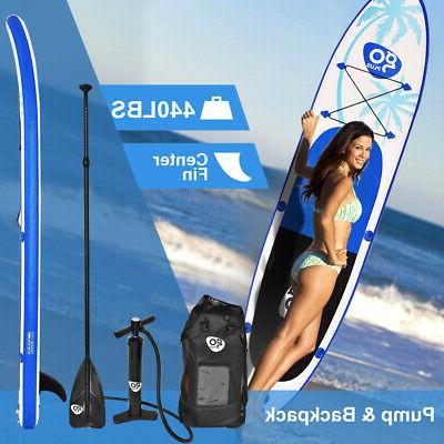Goplus Up Paddle Board Fin Paddle Backpack
