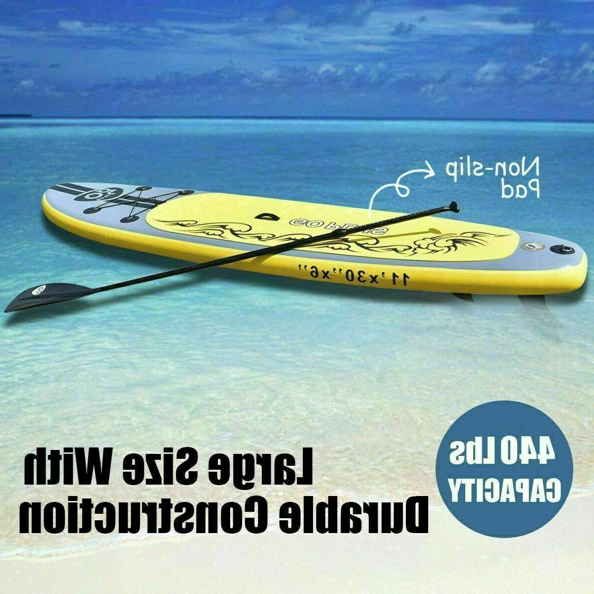 Goplus Stand up Paddle with Fins Free