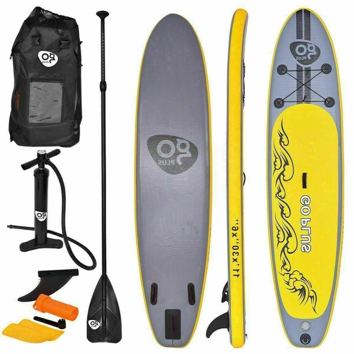 goplus 11 inflatable stand up paddle board