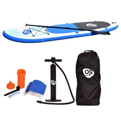 Goplus Inflatable Paddle Fin 11 30 6 in