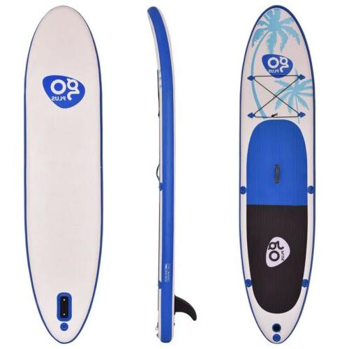 Goplus Inflatable Paddle Fin 30 in x 6 in