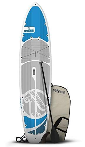 Jimmy Styks Stand Paddle Board, Blue/Gray, Large