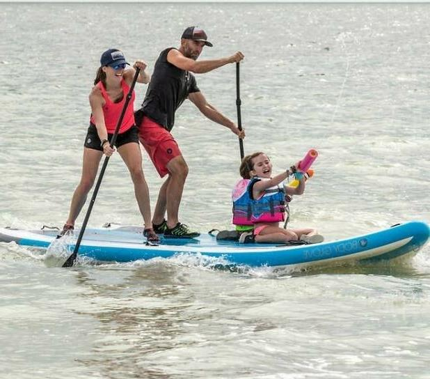 huge family paddleboard inflatable 4 6 people