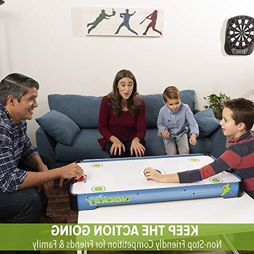 Sport 40-Inch Electric Table with 2 Pushers and Pucks