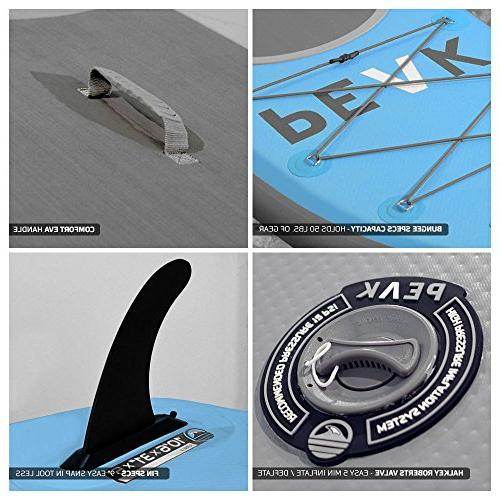 Peak 10'6 Up Board Complete Package | Paddle, Backpack, Leash