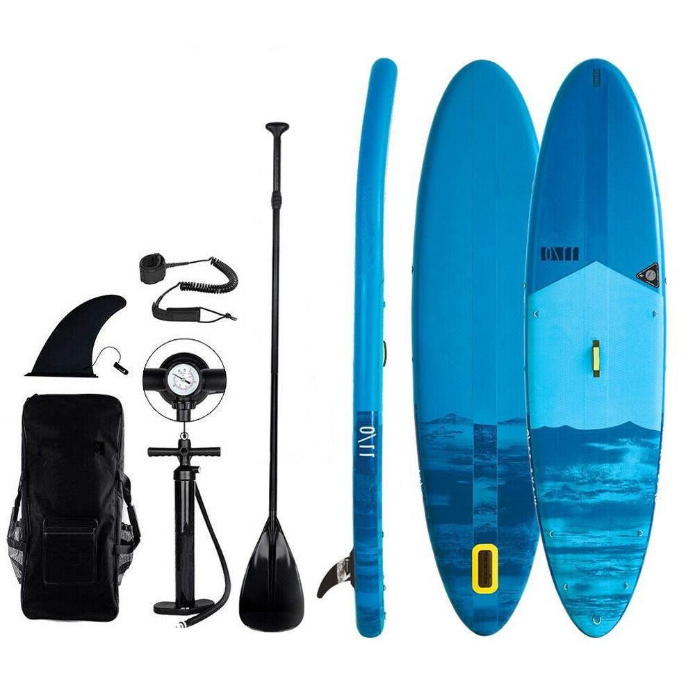 inflatable 11 sup paddle board 6 thick