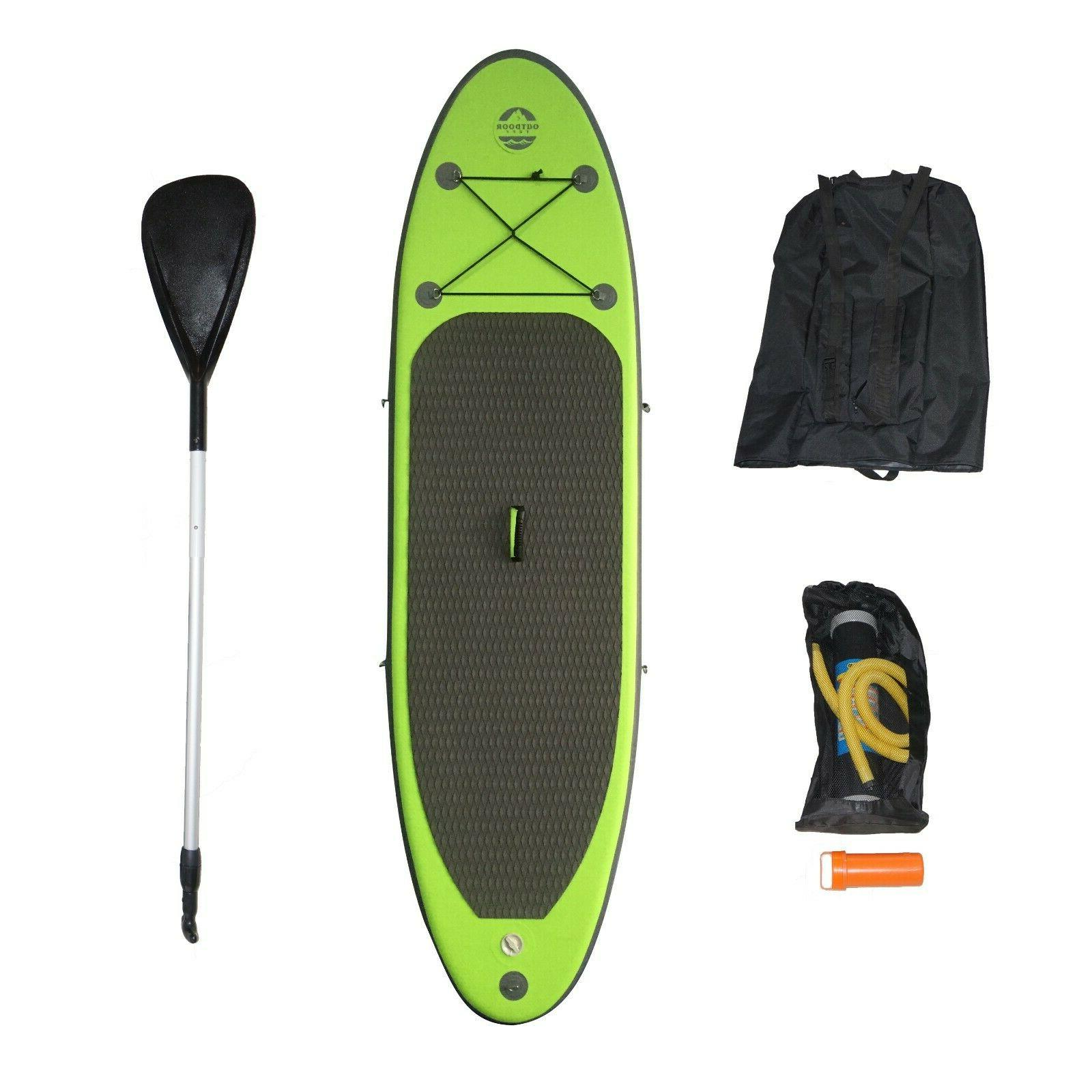inflatable backpack paddle board otf 94315sup