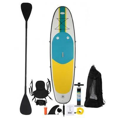 inflatable combo kayak stand paddle