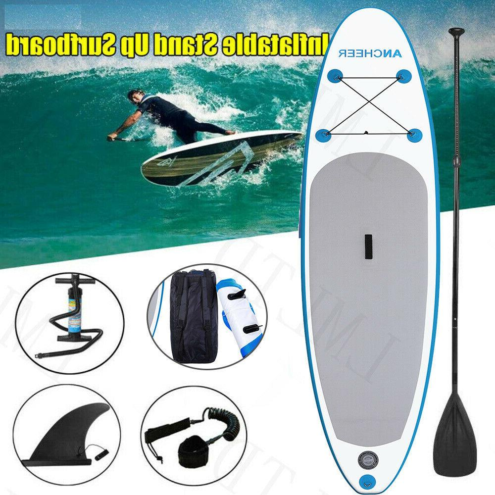ANCHEER Inflatable Hydro-Force Wave Edge x Paddle Board