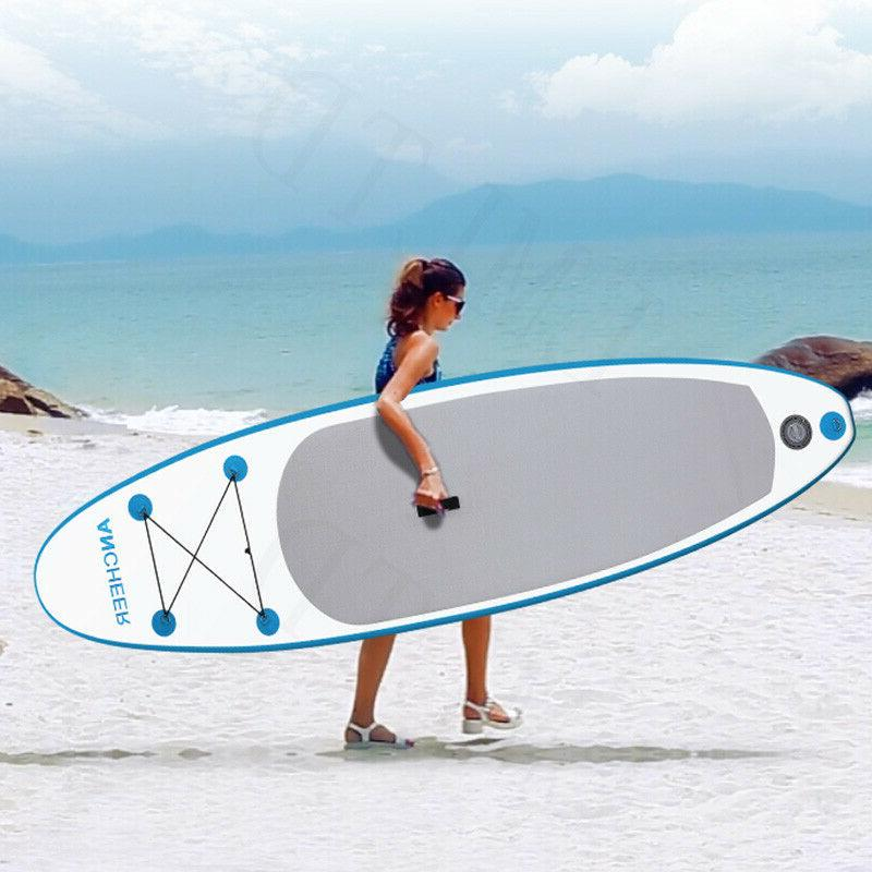 ANCHEER Inflatable Hydro-Force Wave Edge x 32in x 6in Stand Paddle Board