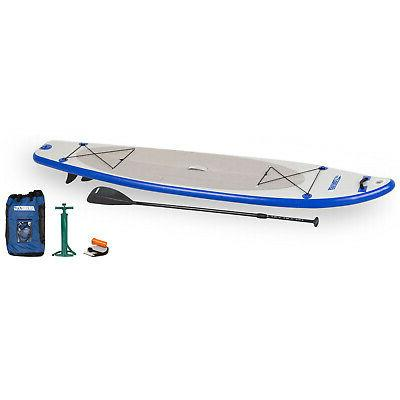 inflatable longboard stand paddle board
