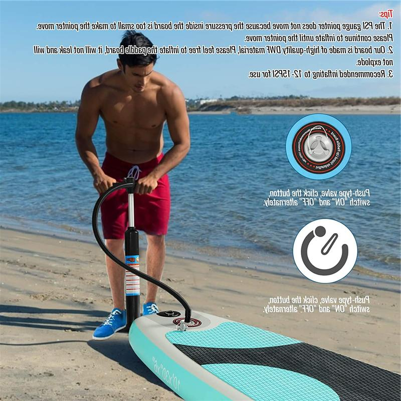 Inflatable Paddle Surfboard + Accessories & Bag