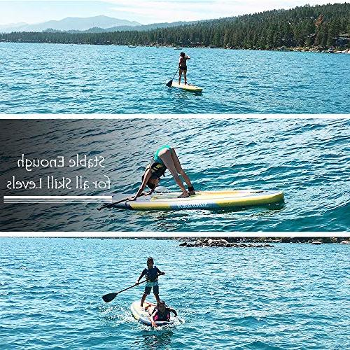 Swonder Up Durable & Long Thick, Full SUP Paddle | |Center Paddling