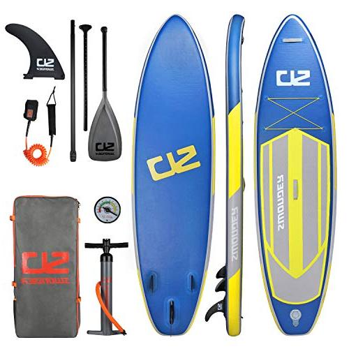 inflatable stand paddle board